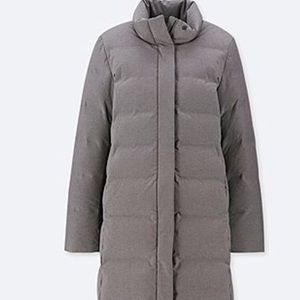 UNIQLO SEAMLESS DOWN long coat - Grey
